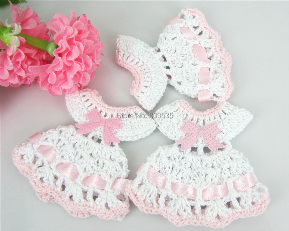 ̿̿̿(•̪ )Envío libre 12 miniatura ganchillo suéter del bautismo de la ...
