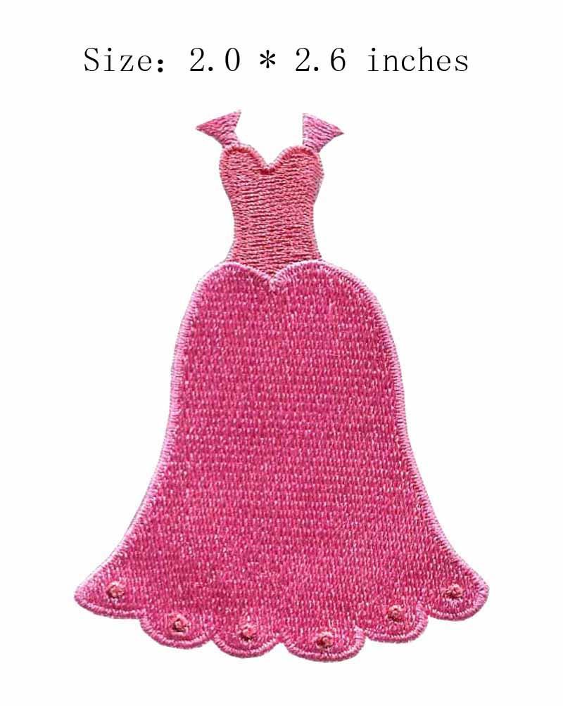 NºPequeña campana 2.0 de ancho/Vestido formal/planchado - a84