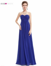 Popular Sapphire Blue Bridesmaid Dresses