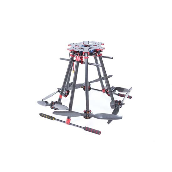 Free shipping flycker MH850 RC hexacopter frame with motor