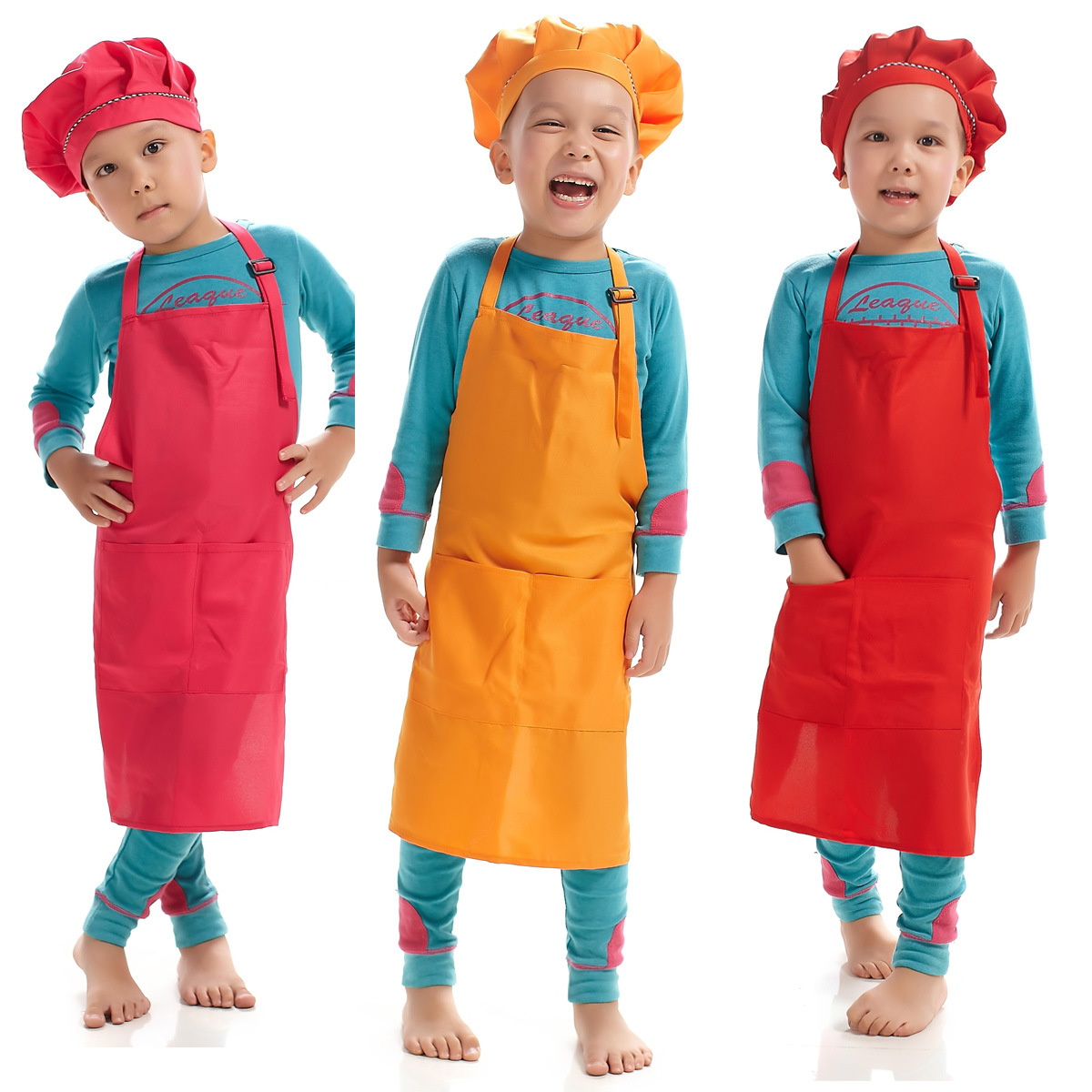 kitchen apron for kids small pendant lights detail feedback questions about cute children plain cooking baking painting bib household anti dust sleeveless on