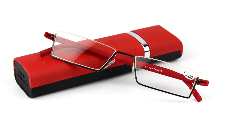 ヾ(^▽^)ノ2016 Nova Moda Unissex Óculos de Leitura Inoxidável com ... c30f12c3d1