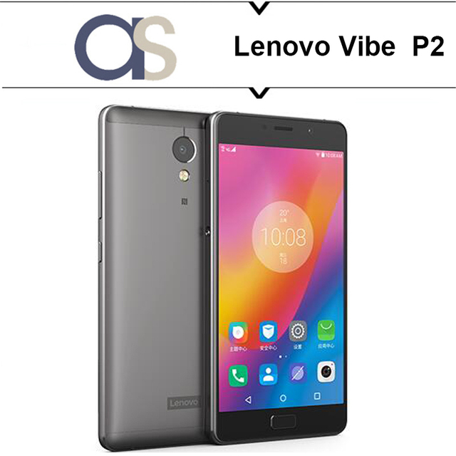 Original Lenovo Vibe P2 Cell Phone Android 6.0 Octa Core 2.5GHz 4G RAM 64G ROM 5.5'' Supper AMOLED 13MP camera 5100Mah battery