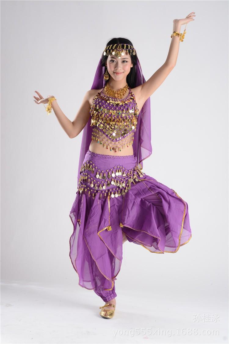 ✓2015 nueva llegada Bollywood Egipto vientre mujeres baile hip ...