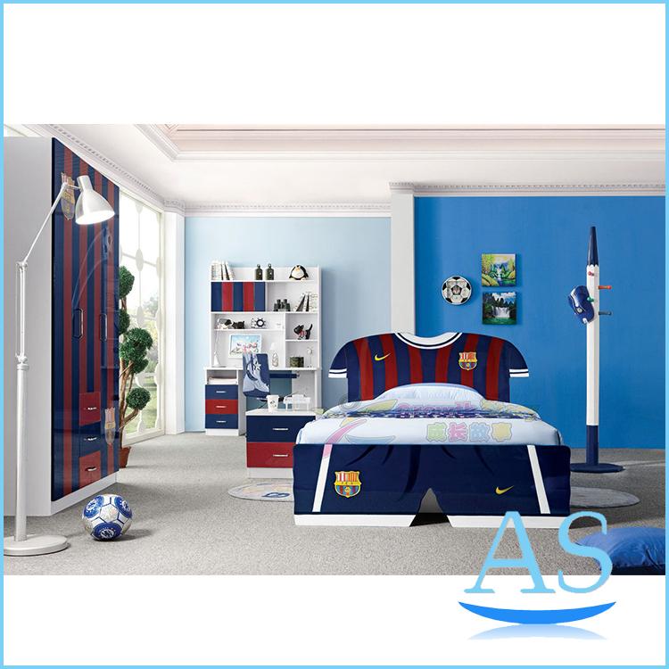 Modren hot sale kids bedroom furniture children bedroom set K350 1in Children Furniture Sets