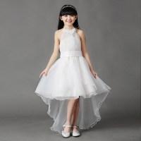 3 16Y Kids Gauze pearl Tee dresses for teenage girls ...