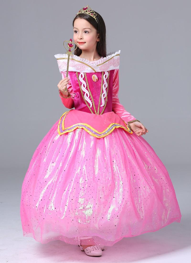 ᗚBelleza durmiente princesa vestidos elegantes para las muchachas ...