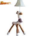 High Quality Cartoon Kids Floor Lamp LED E27 Bulb 110V 220V Cute Cloth Goat People Led