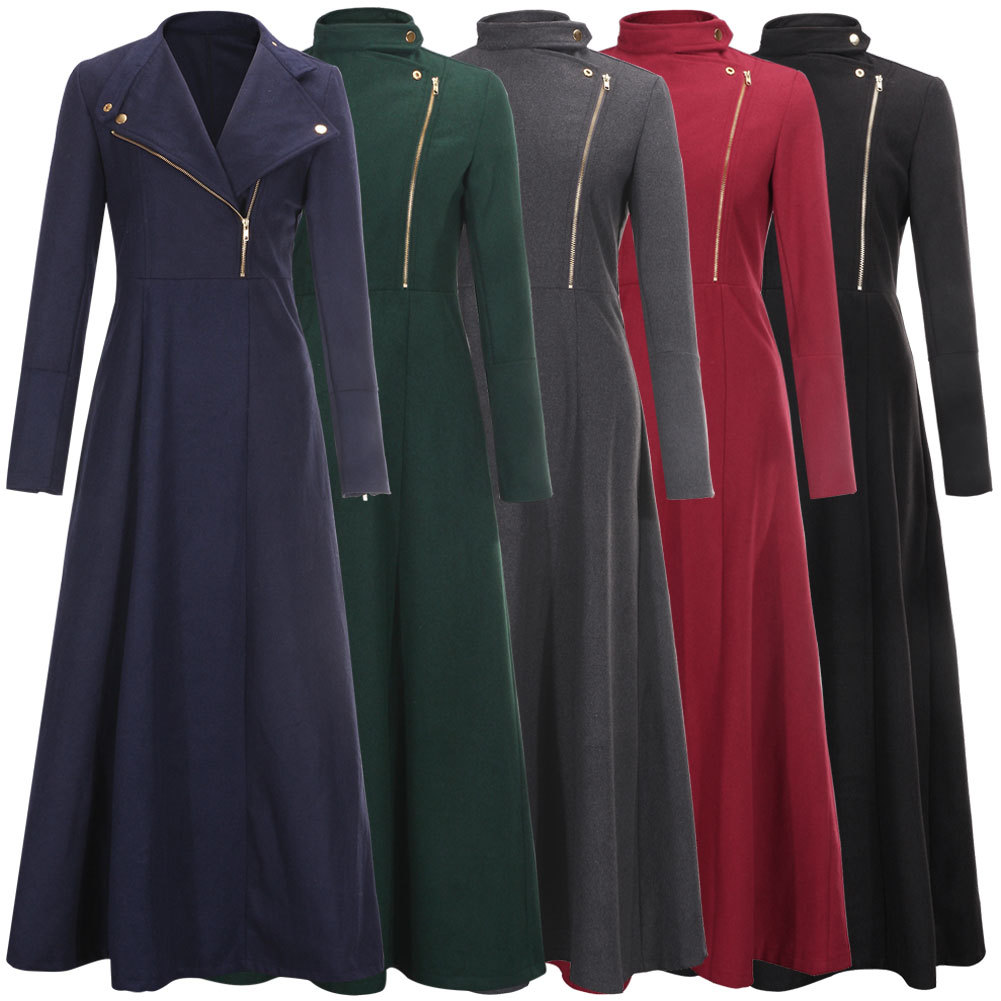 Best Wholesale Floor Length Coat Womens Winter Jackets And