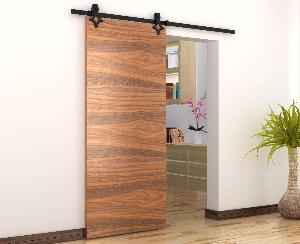 Fashion design sliding barn door hardware for wooden doors