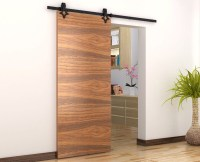 Fashion design sliding barn door hardware for wooden doors