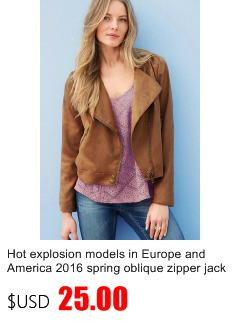 Modelos de explosión caliente en Europa y América 2016 primavera oblicua  cremallera chaqueta nueva 92973c1d9ffe