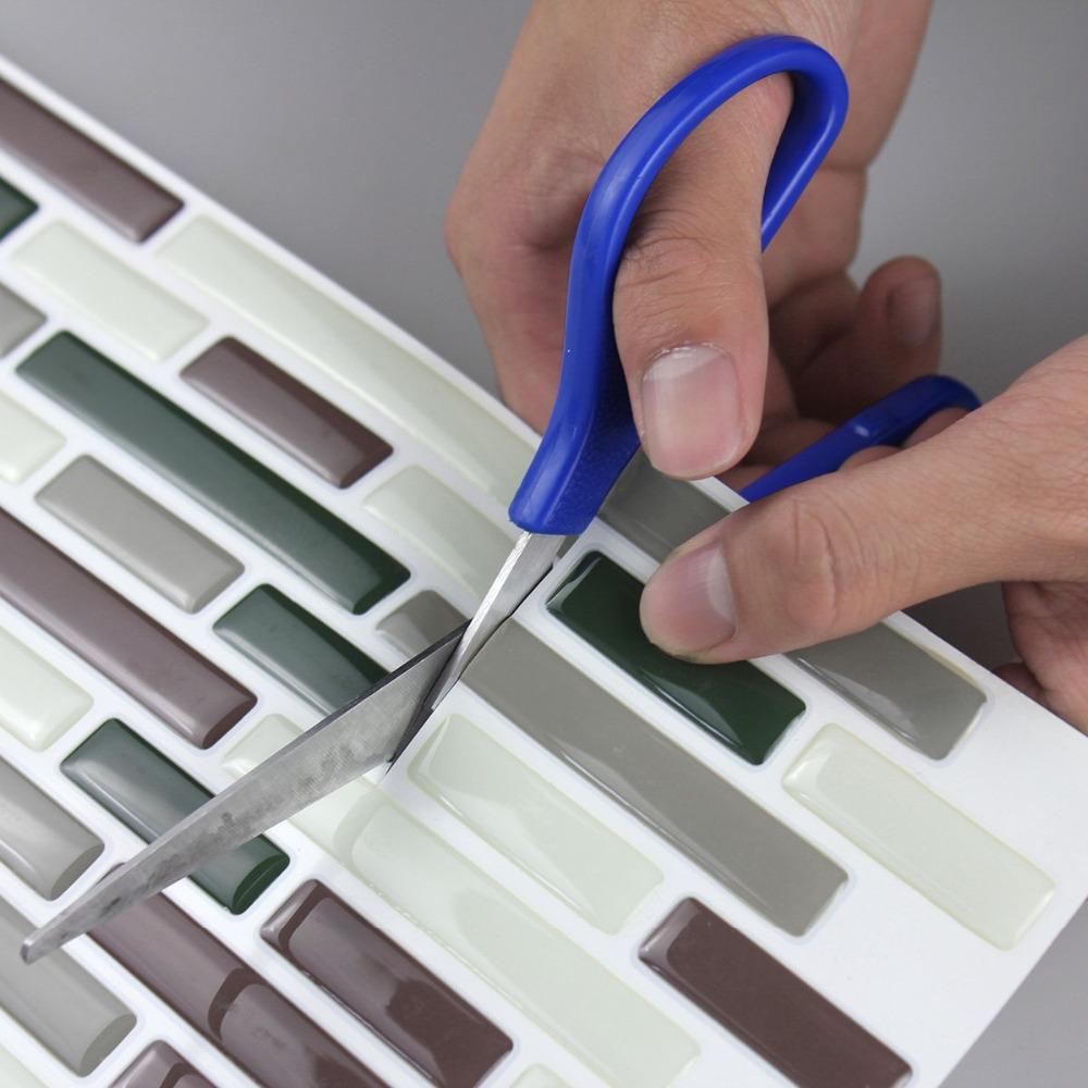 3d Wallpaper Subway Tile White 3d Adhesive Faux Tile Vinyl Peel And Stick Tiles Subway