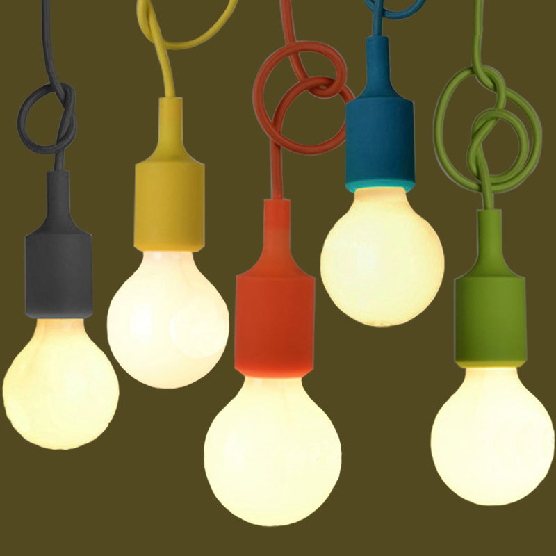 Multi Coloured Pendant Lights