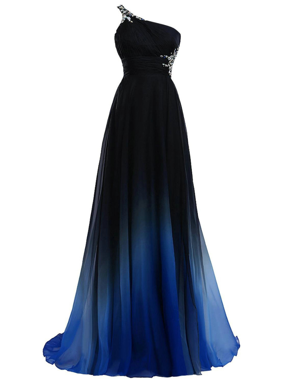 c876b7b962b Elegante Abito Da Sera 2019 Viola Formale Abiti da ballo Vestito Da ...