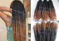 rope twist braids two tone hair color aliexpress com buy ...
