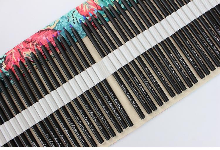 36/72 agujeros Arce hermosa lápiz estuche escuela roll bolsa ...