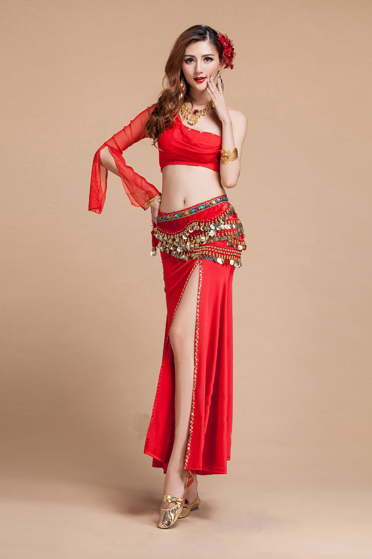 2015 Adult belly dance costume sexy outfit women Indian ...