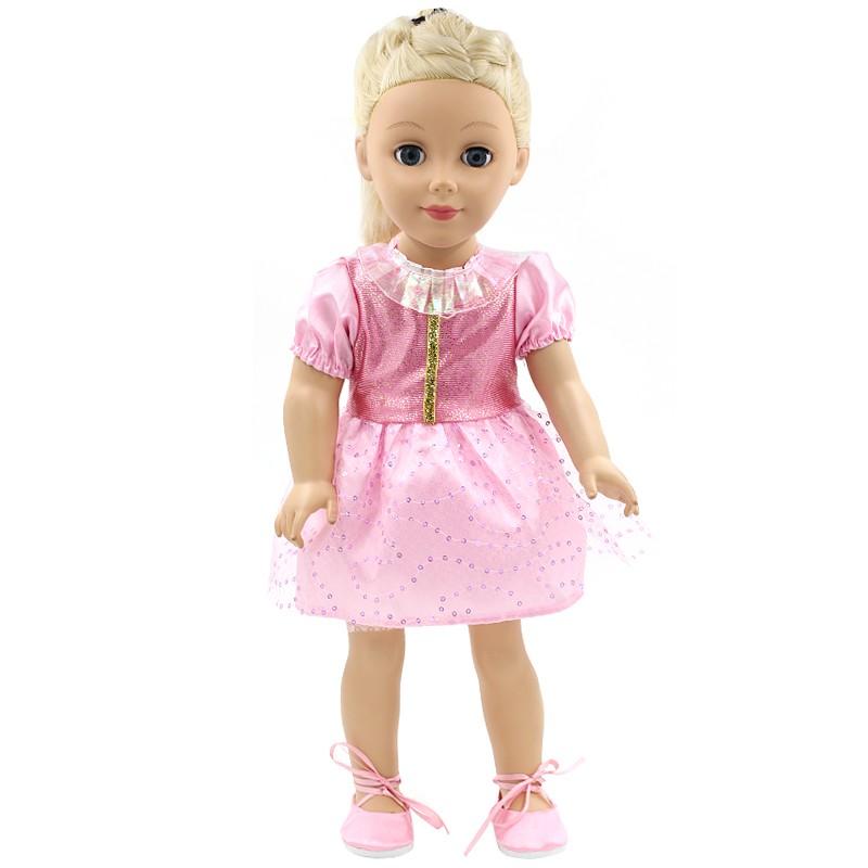 NºAmerican Gift Girl Doll accesorios 13 colores vestido 13 soporte ...
