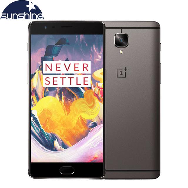 "Original Oneplus 3T A3010 One plus 3T 4G LTE Mobile Phone Quad core Fingerprint 5.5""16.0MP 6G Ram NFC Android Smartphone"