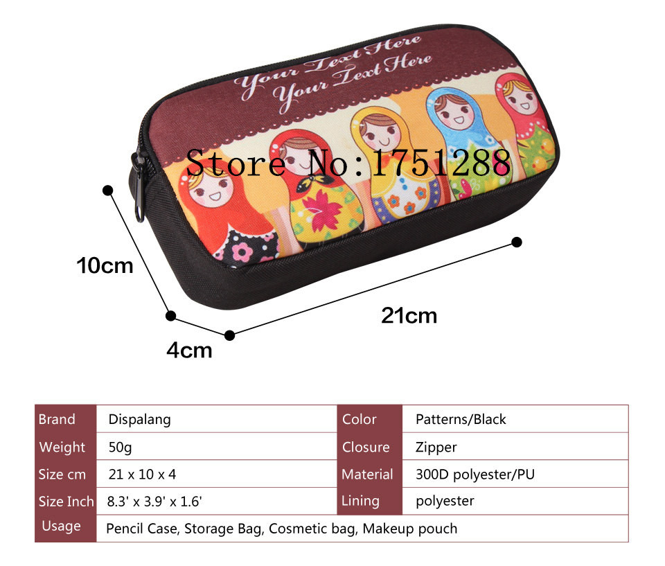 Well-Educated Cartoon Punk Gothic Girls Coin Purse Pencil Holder Kids Gift Bag Children Case Boys Girls School Supplies Cases Makeup Bags Coin Purses Coin Purses & Holders