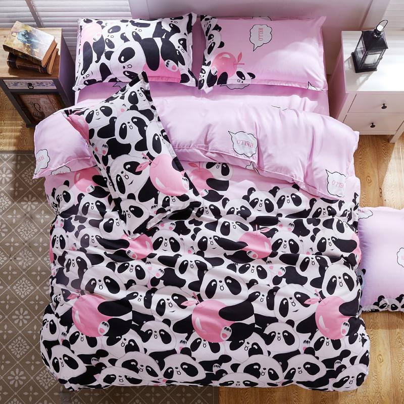 Panda Bed Sheets Promotion