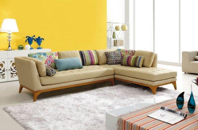 2015 modern corner sofa set ikea sofa leather sofa set ...