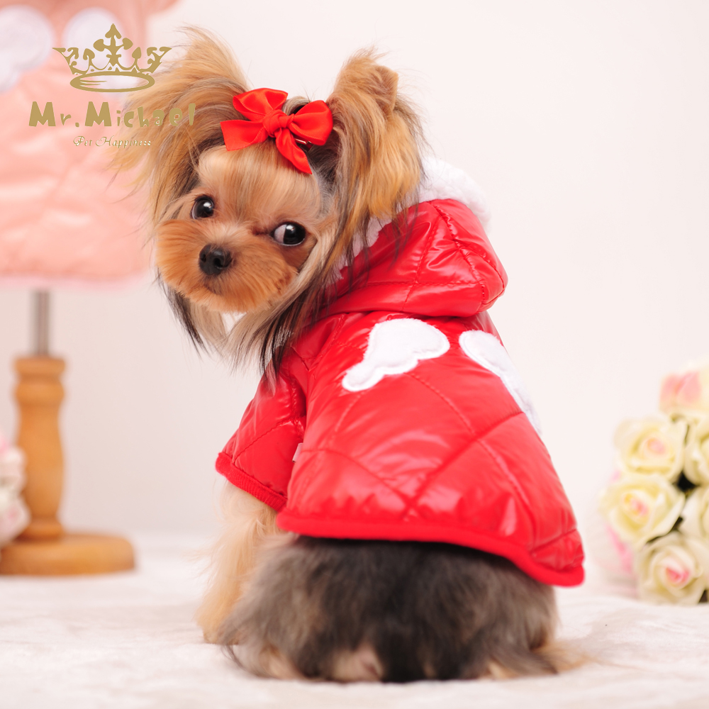 Buy Dog Clothes Winter Pet Jumpsuit Lovely Stars Clothing
