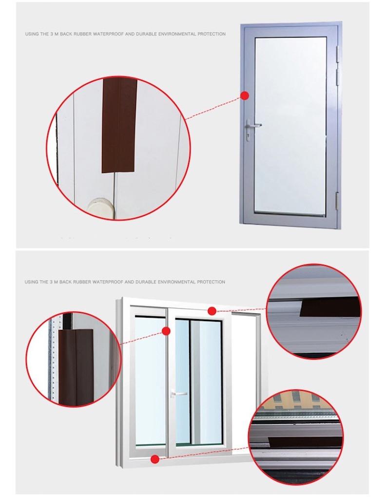 Burlete proyecto tapón sin marco ventana corredera puerta sellos de ...