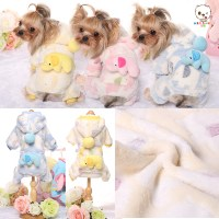 Aliexpress.com : Buy Flannel Dog Clothes Baby Elephant ...