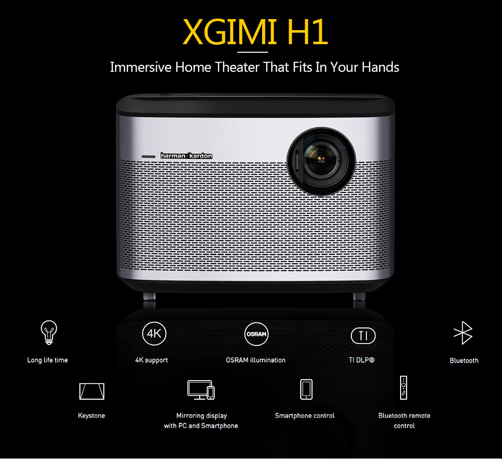 XGIMI H1 projector 4K