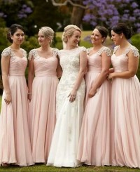 Bridesmaid Dresses Blush Pink - Cheap Wedding Dresses