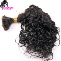 Top Quality Virgin Brazilian Curly Bulk Hair For Braiding ...