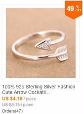 4038c5cfaf44 Trusta mujer 100% 925 plata esterlina moda joyería gato anillo de cóctel  sizable Niñas niños Xmas regalo ds86 freeshipping