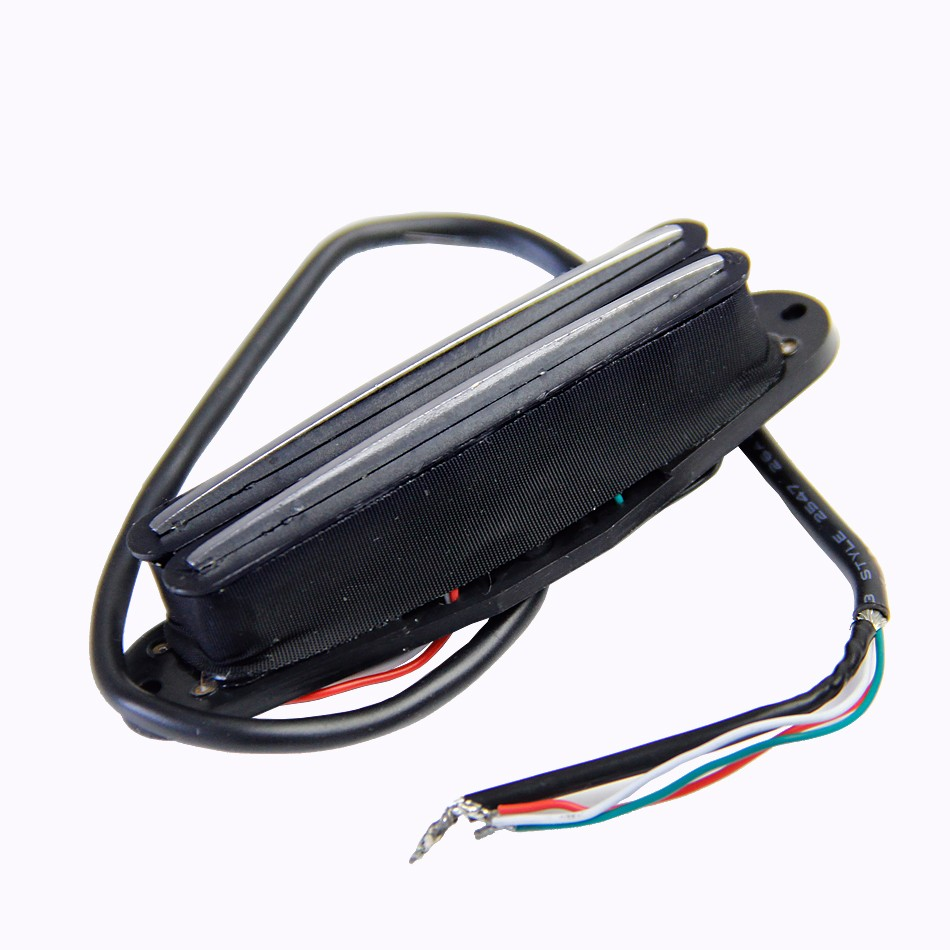 4 Wires For Coil Tapping And No Noise Dual Hot Rail Humbucker Neck Pickup Wire Electric Guitarin Sound Qh 6b Amplifier Speaker Guitar All Kinds Of Guitars Pick Holder Usd 1610 Piece