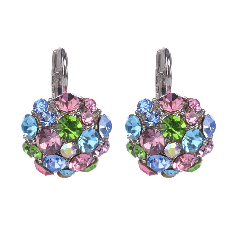 Hot Clip On Earrings For Women Fashion Accessories Silver
