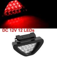 Universal-2-Mode-Lighting-12V-Clear-Lens-Red-LED-Running ...
