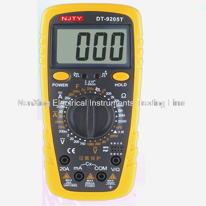 ᗜ LjഃБыстрое прибытие DT9205T Ручной цифровой мультиметр ...