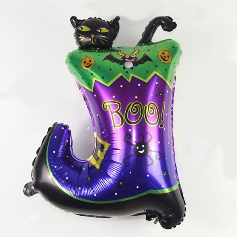 ✓Gran 73*54 cm Halloween Botas bolas colorido decoración del ...