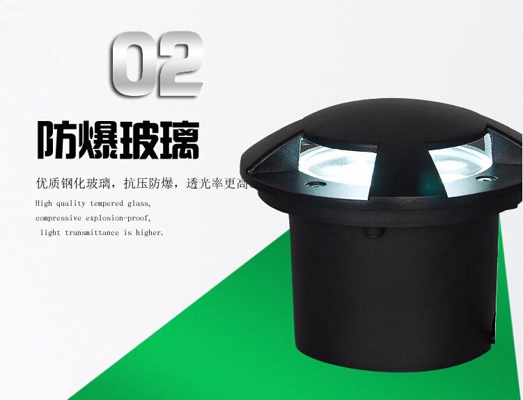⑤Venta caliente impermeable IP68 alta potencia la 3 W llevó la potencia lámpara 01b344