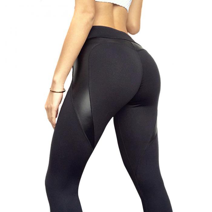 d236a6aae1 Spring Autumn Women Yoga Pants Elastic High Waist Gym Fitness Leggings Slim  Trousers BHD2