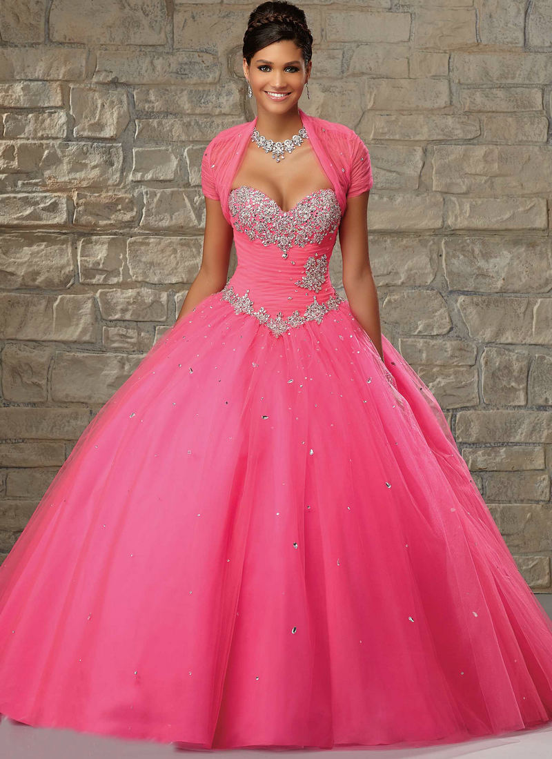 07846f31308 White Ball Gown Sweet 16 Dresses