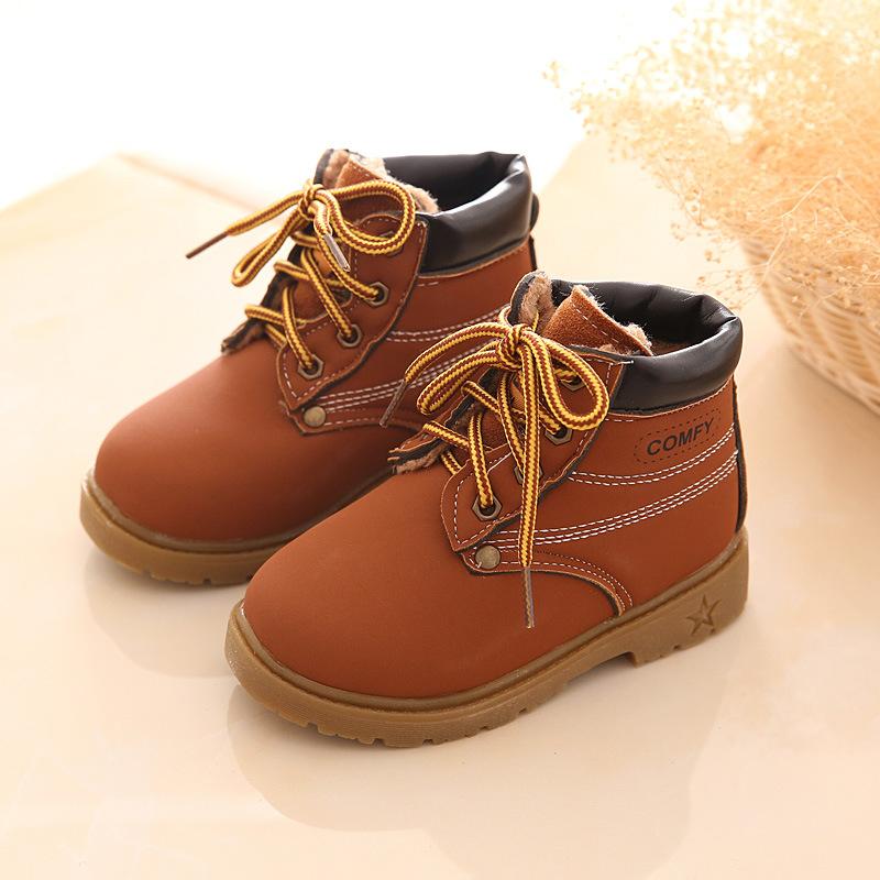 Épaississement hiver plus Velvet Matte a une tête ronde chaussures antidérapantes le canon à neige bottes bottes femme ,39, Brown