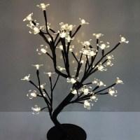 110/220V New LED crystal cherry blossom tree Lamp Night ...