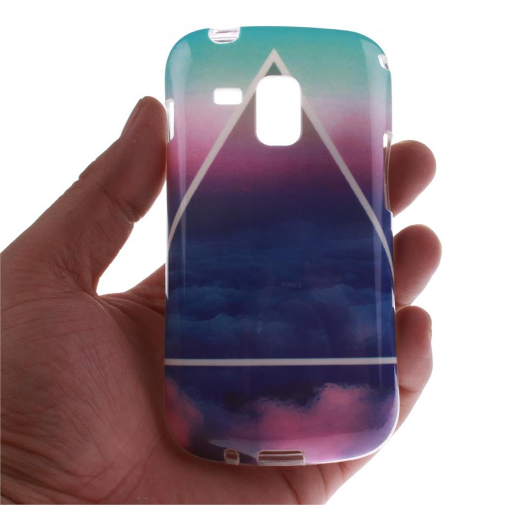 Art Tpu Phone Case For Samsung Galaxy Trend S7560 S Duos S7562 Goospery Grand Neo Canvas Diary Blue