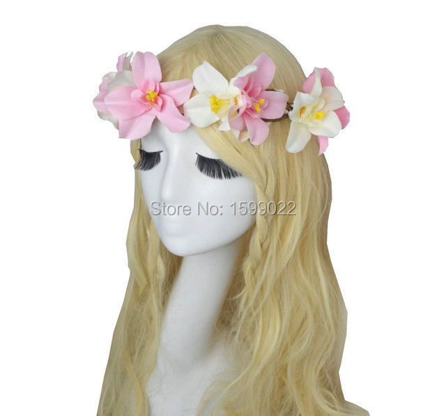 Popular Orchid Hair Pieces Buy Cheap Orchid Hair Pieces