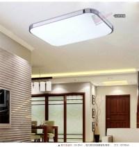 slim fixture square LED light living room bedroom ceiling ...