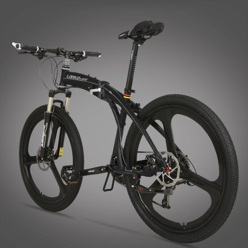 Cyrusher P8 plegable bicicleta de montaña suspensión delantera 17 \