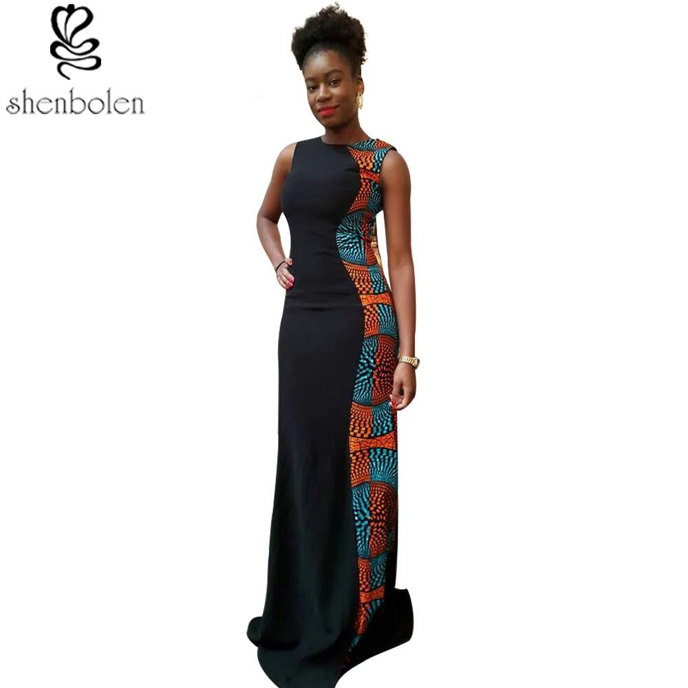 ③2016 vestidos africanos para las mujeres Ankara que hace punto ...