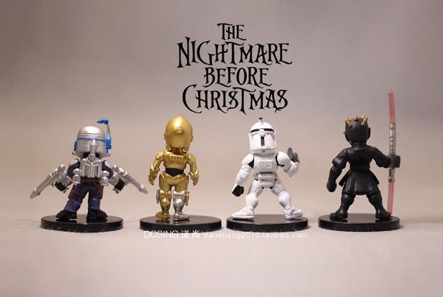 ⃝4 pcs New Star Wars Darth Maul véritable vrac blanc pion C-3PO ... 10dc0434bc05